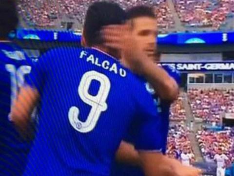 Chelsea already love 'world-class' Radamel Falcao after brilliant debut