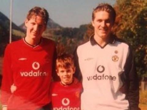 Bastian Schweinsteiger's brother shares photo proving star always loved Manchester United