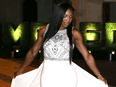 Serena Williams was the glamazonian queen of tennis at the Wimbledon dinner