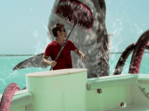 The Sharktopus Vs Whalewolf trailer is the most ridiculous but amazing film trailer ever