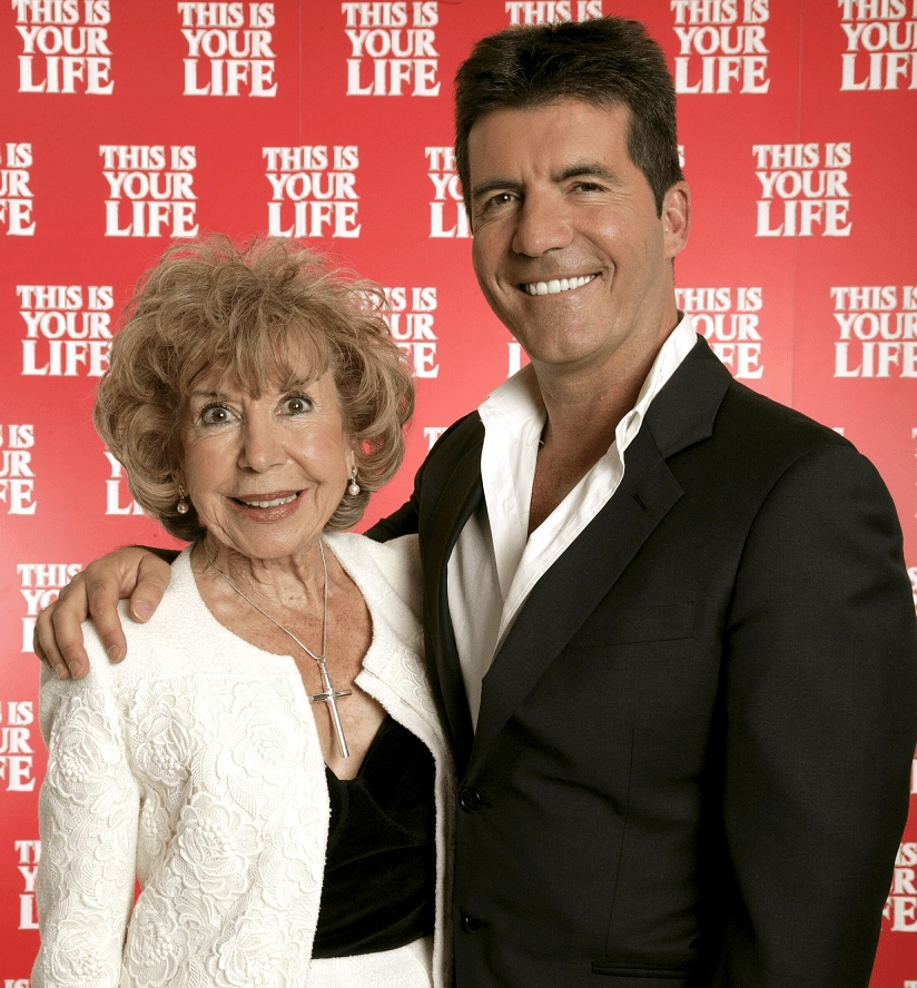 Simon Cowell and mother Julie (Picture: ITV/REX Shutterstock)