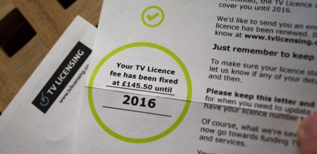TV License bill Credit: BBC