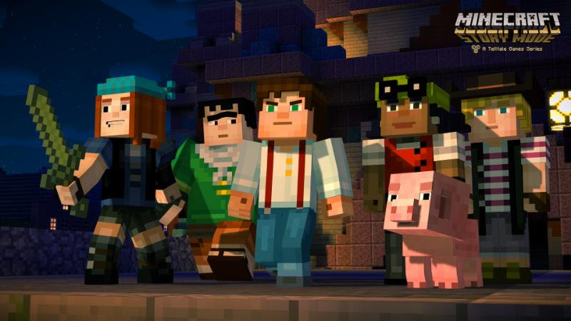 Minecraft: Story Mode - dig for the truth