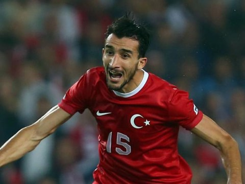 Fenerbahce 'receive £5m transfer bid from mystery club for Mehmet Topal, Arsenal believed to be favourites'