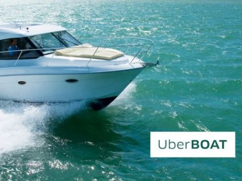 Uber has launched an on-demand speedboat service
