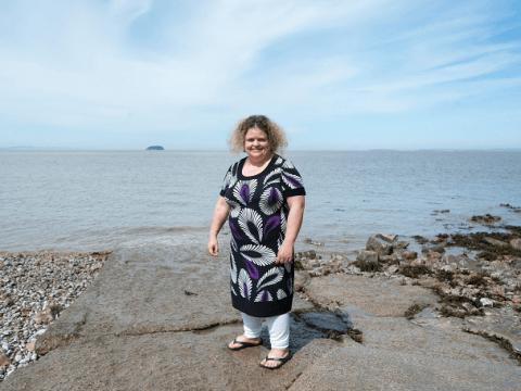 Woman 'sleep-walked' half a mile and into the sea