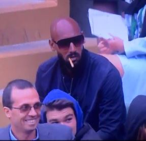 Nicolas Anelka has absolutely no time for Mexican waves at Wimbledon 2015