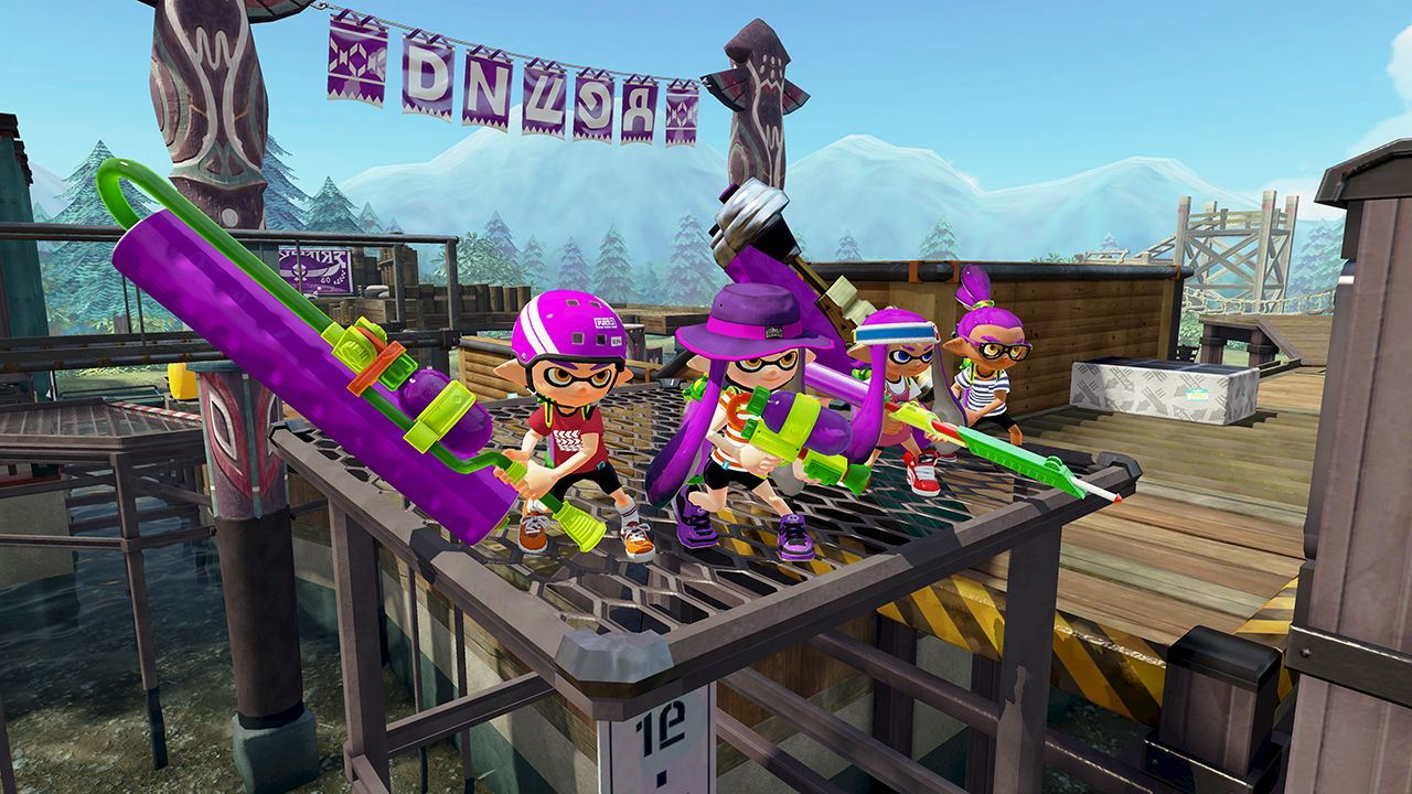 Splatoon (Wii U) - bigger and better