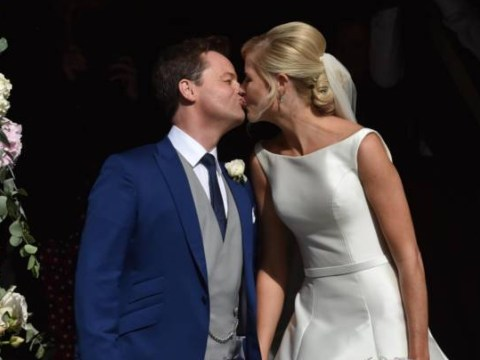 Declan Donnelly and wife Ali Astall mark third anniversary taking 'bump to the theatre'