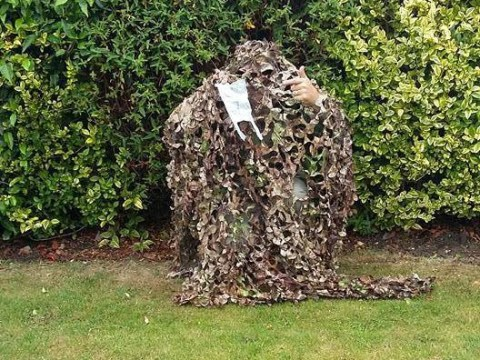 Dog poo crusader hides in bushes to film dog walkers who don't pick up their s***