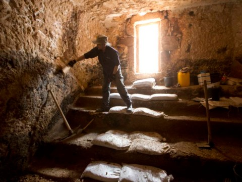 Mystery of 2,000-year-old graffiti in secret chamber