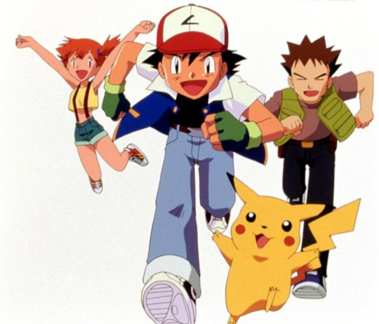 No Merchandising. Editorial Use Only. No Book Cover Usage Mandatory Credit: Photo by Everett/REX Shutterstock (459304b) 'Pokemon' - Misty, Ash Ketchum, Pikachu and Brock - 1999 'POKEMON' TV SHOW
