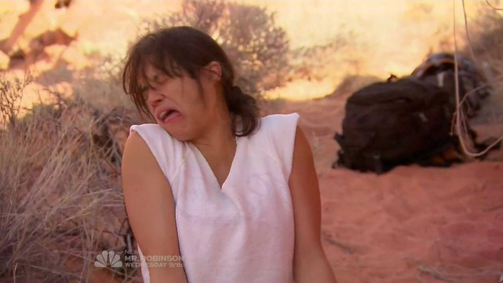 Michelle Rodriguez eats a mouse stewed in her own urine – and even Bear Grylls was disgusted by it