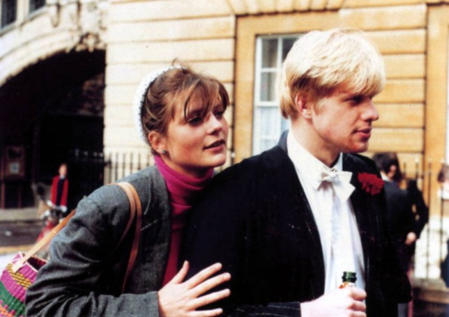 Boris Johnson and Allegra Mostyn-Owen celebrate in 1987 after his final Oxford exams... Scans from the book 'The Rise of Boris Johnson' Boris is a man who needed someone very obedient and silent. My daughter wasn't that person - She was a society beauty and Tatler cover girl who became Boris Johnson's first wife. Now she teaches pottery to young Muslims at a London mosque - THEY appeared to be the golden couple president of the prestigious Oxford Union, was already earmarked as a future political leader, while Allegra Mostyn-Owen was the ethereal beauty who had been a Tatler cover girl. Their romance blossomed amid the city's dreaming spires, and they tied the knot in a grand wedding soon after leaving university. But the fairy tale was not to last long - and today their lives are worlds apart. As Boris began his term as Mayor of London last week, his former wife went to work at an East London mosque where she teaches art to young Muslims. This was not the life Allegra seemed destined for. As the only daughter of acclaimed Italian writer Gaia Servadio and multimillionaire landowner and art historian William Mostyn-Owen, a privileged existence amid the upper echelons of society seemed assured. But Allegra, now 43, is said to have been so deeply affected by the collapse of her marriage that she left all that behind to channel her passions into good causes. She now lives in a modest home in West Kensington, has never remarried and has no children.