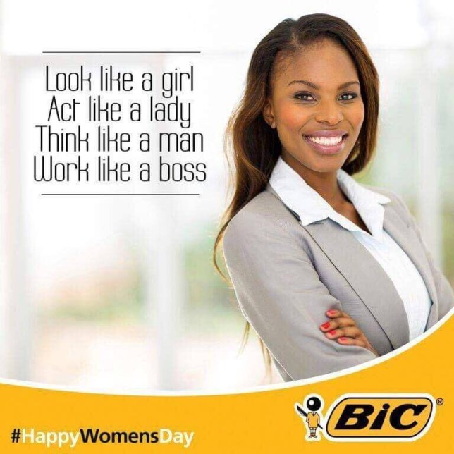 Bic Pens ad sexist