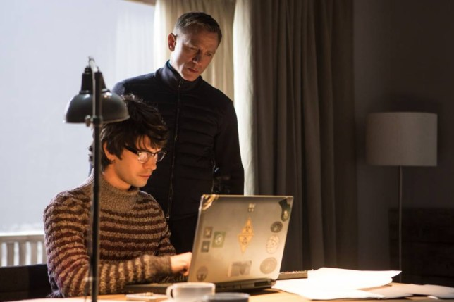 Ben Whishaw and Daniel Craig in Metro-Goldwyn-Mayer Pictures/Columbia Pictures/EON Productionsí action adventure SPECTRE.