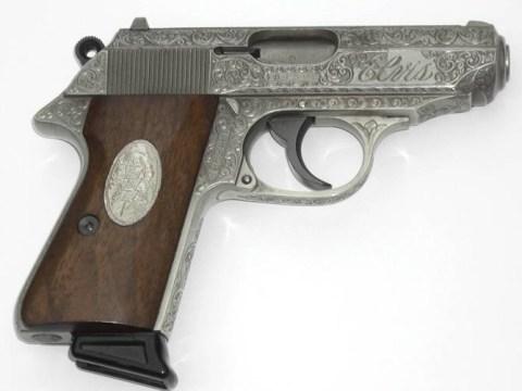 Elvis' personalised handgun sells for £60k on 38th anniversary of his death