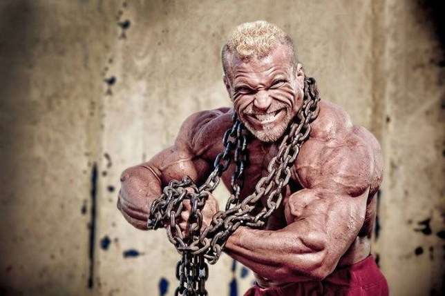 Barny du Plessis, 40, from Norwich, has competed in 55 shows in 20 years (Picture: Barny du Plessis)