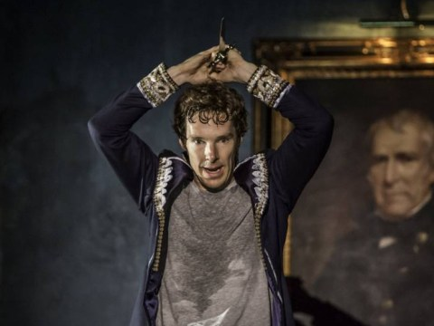 'F**k the politicians': Benedict Cumberbatch 'shocks theatregoers with refugee plea after final Hamlet performance'