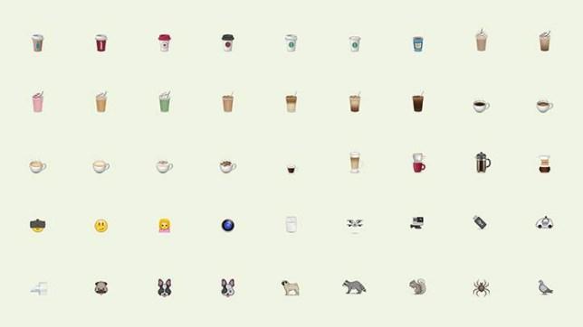 Moving Brands emoji's