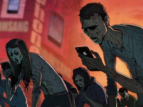 Artist illustrates modern day life and it's terrifying