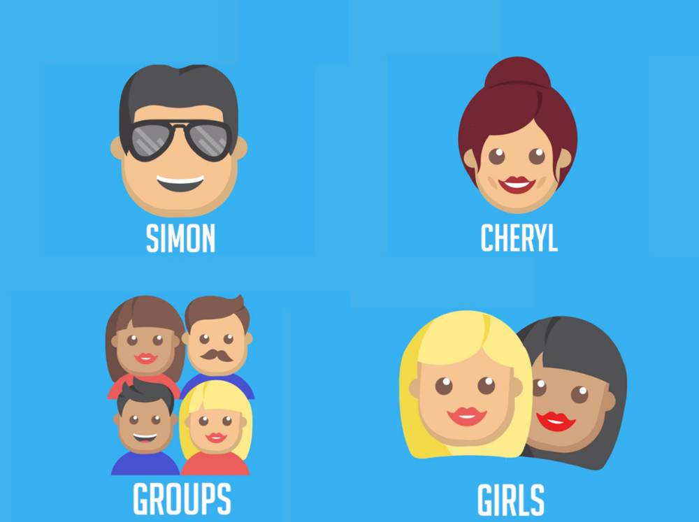 How do you vote for which X Factor judge gets which category? The all-new Twitter emojis, that's how!