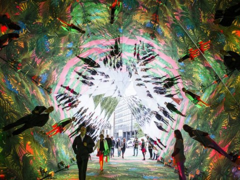 There's a magical giant kaleidoscope in London bringing joy to everyone