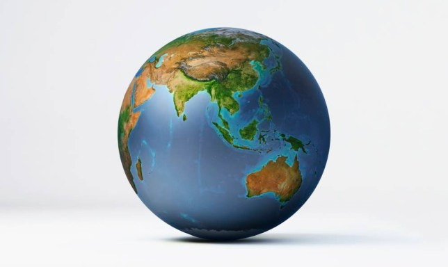 Illustration, planet Earth