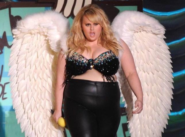 Mandatory Credit: Photo by MediaPunch/REX Shutterstock (4642706as).. Rebel Wilson.. MTV Movie Awards, Show, Los Angeles, America - 12 Apr 2015.. ..