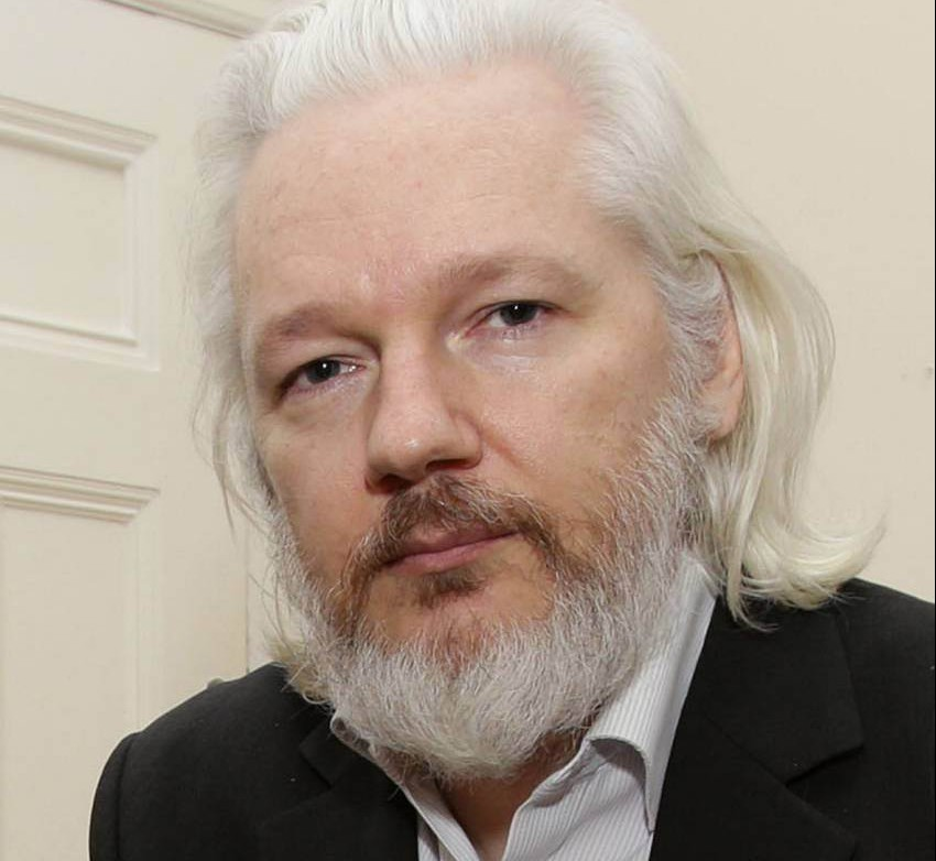 File photo dated 21/08/15 of WikiLeaks founder Julian Assange who fears he may be assassinated if he steps outside the Ecuadorian embassy. PRESS ASSOCIATION Photo. Issue date: Saturday August 29, 2015. In an interview with The Times Magazine, Mr Assange said he has not had any fresh air or sunlight for three years because it is too dangerous to leave the building. See PA story LEGAL Assange. Photo credit should read: Yui Mok/PA Wire