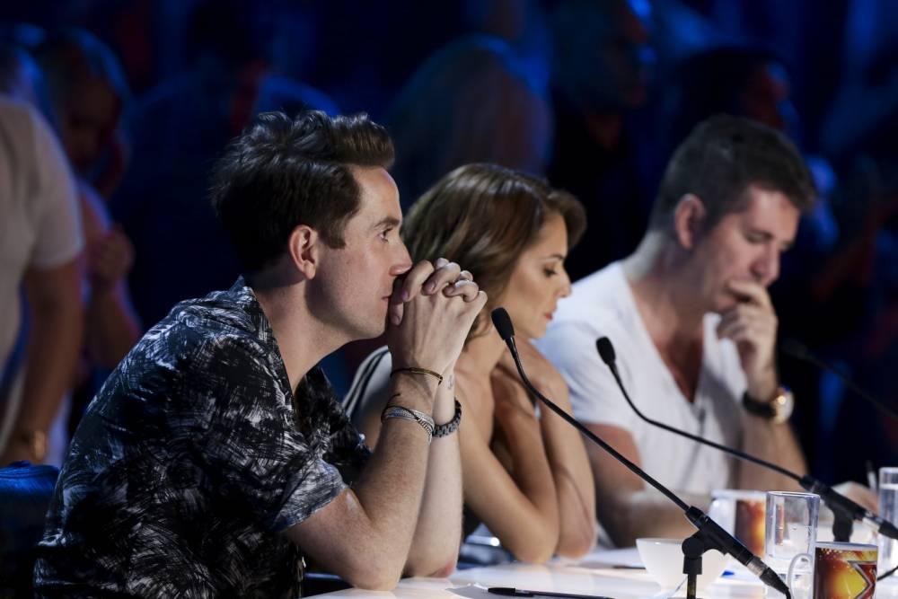The X Factor judges Simon Cowell, Cheryl Fernandez-Versini, Nick Grimshaw and Rita Ora reveal their categories