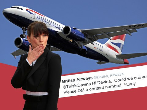 Davina gets BA call back – some bloke called Graham? Nope