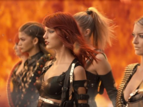 Taylor Swift denies Bad Blood is about Katy Perry, sort of