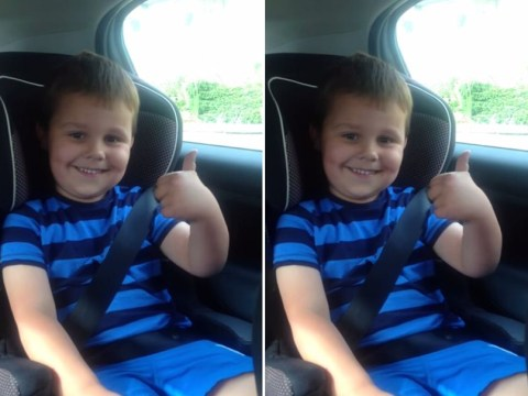 Little boy is MOST EXCITED PERSON EVER when he finds out he's gonna be a big bro