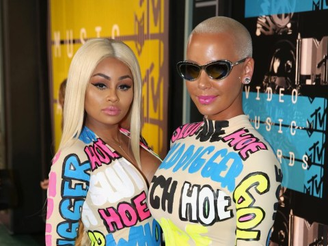 Amber Rose and Blac Chyna tackle slut shaming on the VMAs red carpet
