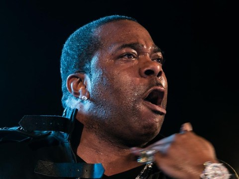Rapper Busta Rhymes charged with throwing strawberry protein drink at gym worker