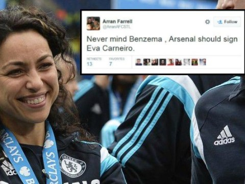 Arsenal fans urge Arsene Wenger to hire Chelsea's Eva Carneiro after Jose Mourinho incident