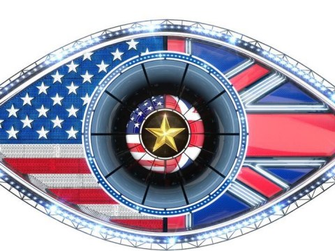 The new Celebrity Big Brother Eye has been revealed – and it's in keeping with the US vs UK theme