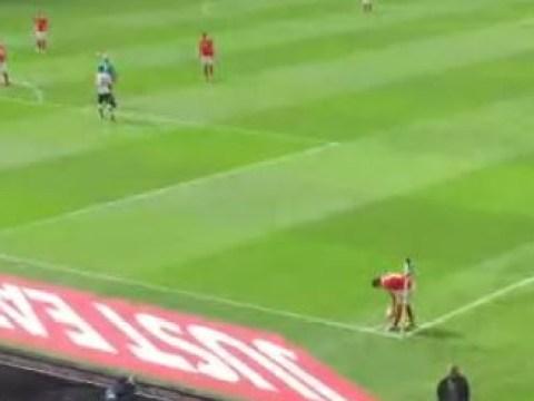 Former Tottenham star Cristian Ceballos takes worst corner ever for Charlton Athletic v Derby County