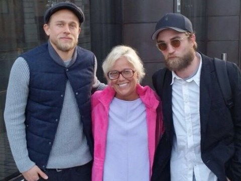 Robert Pattinson, Charlie Hunnam and their beards made this fan girl's day