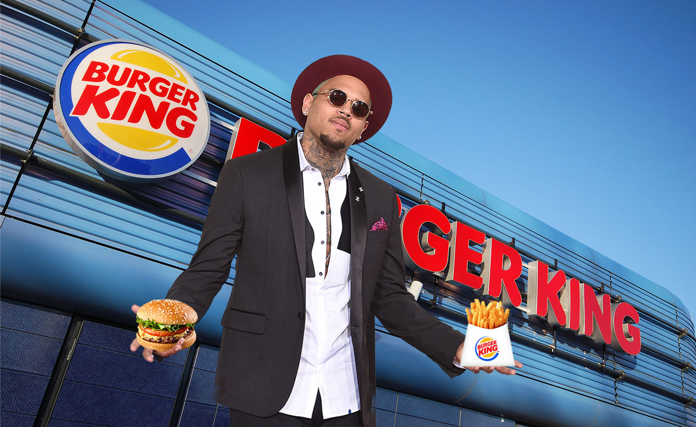 Chris Brown owns a string of Burger Kings Picture: Alamy/Getty