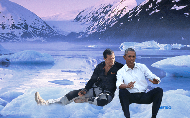 Obama to do a show with bear Grylls Source: Getty Images Credit: METRO/mylo