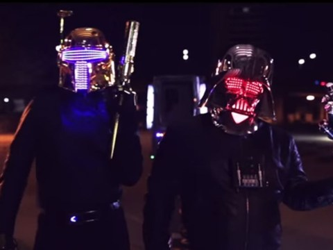 This Daft Punk/Star Wars crossover video is bizarre – but we love it
