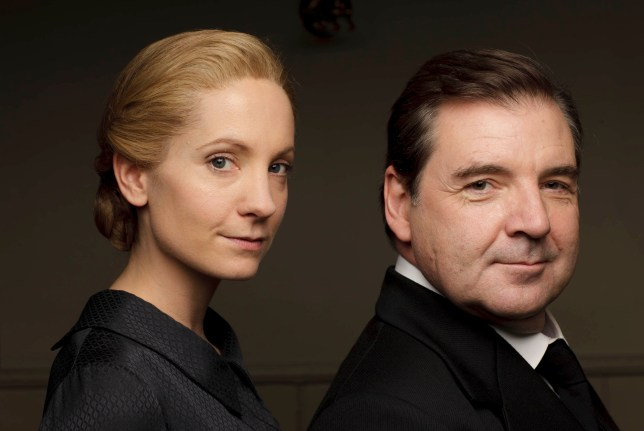 FOR IMMEDIATE USE DOWNTON ABBEY Series Six Coming soon to ITV Pictured JOANNE FROGGATT as Anna Bates and BRENDAN COYLE as Mr Bates Later in the year we return to the sumptuous setting of Downton Abbey for the sixth and final season of this internationally acclaimed hit drama series. As our time with the Crawleys begins to draw to a close, we see what will finally become of them all. The family and the servants, who work for them, remain inseparably interlinked as they face new challenges and begin forging different paths in a rapidly changing world. Photographer: Nick Briggs © Carnival Films