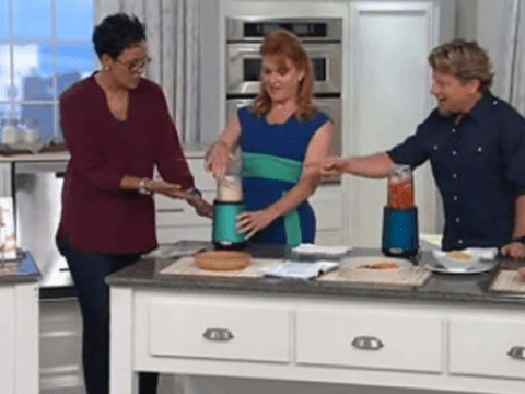 The Duchess of York is selling food blenders on QVC now