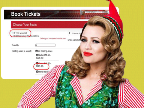 Want to see Elf The Musical in London this Christmas? It'll cost you…