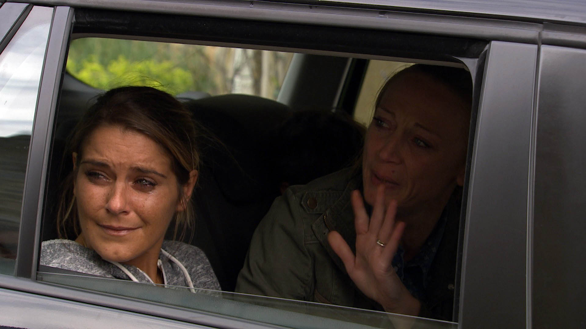 FROM ITV STRICT EMBARGO -No Use Before Sunday 23 August 2015 Emmerdale -  Wednesday 26 August 2015 RACHEL BRECKLE LEAVES THE VILLAGE. Things are awkward between Sam and Rachel and despite knowing itÕs for the best, Sam is devastated to be losing her. Jai is shocked to hear Rachel is moving to Liverpool, but powerless to stop her. Rachel goes to see Megan thanking her for her help, and left shocked when Megan reveals she is still pregnant. Rachel then says her goodbyes. Picture contact: david.crook@itv.com on 0161 952 6214 This photograph is (C) ITV Plc and can only be reproduced for editorial purposes directly in connection with the programme or event mentioned above, or ITV plc. Once made available by ITV plc Picture Desk, this photograph can be reproduced once only up until the transmission [TX] date and no reproduction fee will be charged. Any subsequent usage may incur a fee. This photograph must not be manipulated [excluding basic cropping] in a manner which alters the visual appearance of the person photographed deemed detrimental or inappropriate by ITV plc Picture Desk. This photograph must not be syndicated to any other company, publication or website, or permanently archived, without the express written permission of ITV Plc Picture Desk. Full Terms and conditions are available on the website www.itvpictures.com