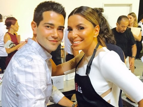Desperate Housewives' Eva Longoria reunited with her favourite gardener Jesse Metcalfe
