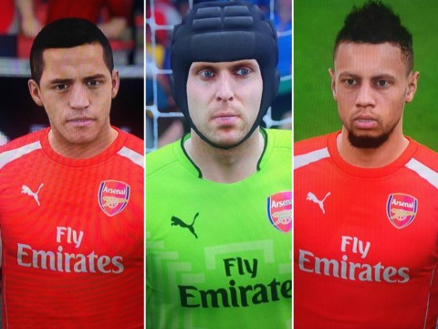 Arsenal stars Petr Cech, Alexis Sanchez and co look absolutely incredible in FIFA 16