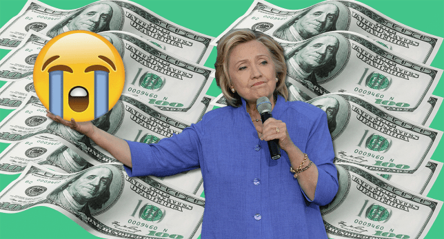 Hillary Clinton asked Twitter to sum up student debt in emojis